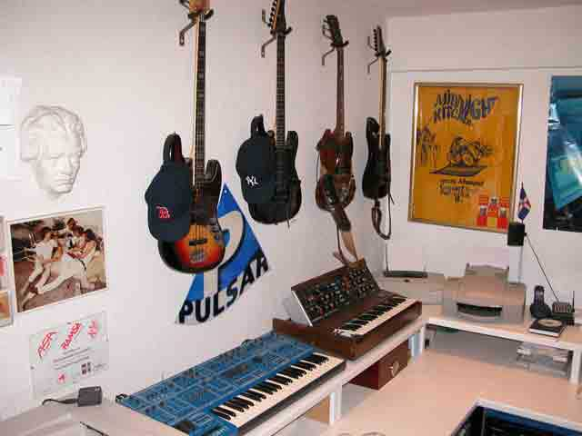 Guitars & Synthesizer